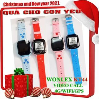Đồng hồ định vị [ ]WONLEX KT44 gọi video call 4G WIFI định vị WIFI/GPS chịu nước ip67