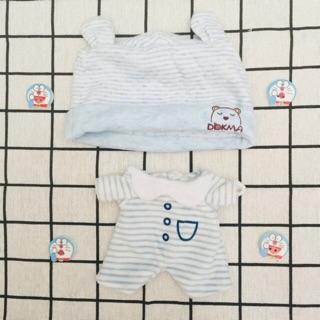 (Outfit doll) Bộ ngủ Baby Bear hàng fs