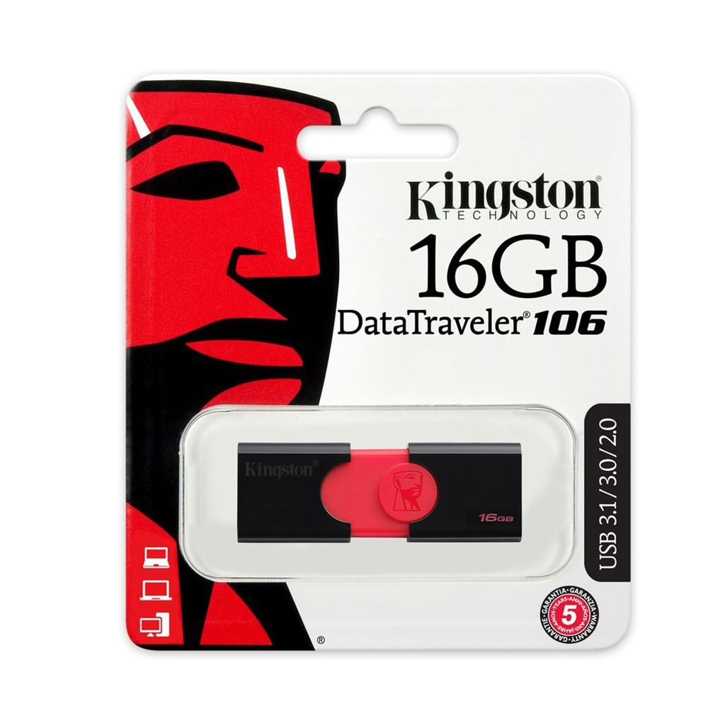 Kingston DataTraveler 106 16/32/64/128GB USB 3.0 Pendrive