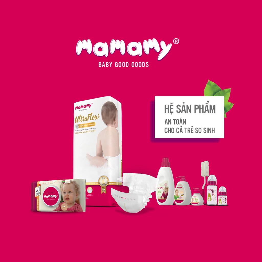 Núm bình sữa chống sặc và đầy hơi cho bé Mamamy - Combo 1 hộp (2 cái/hộp)