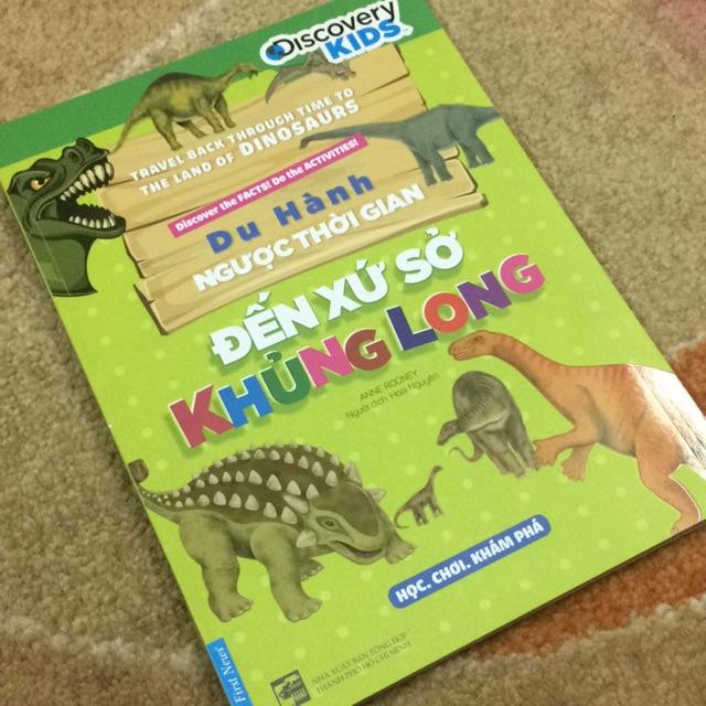 Sách- du hành ngược thời gian đến xứ sở khủng long