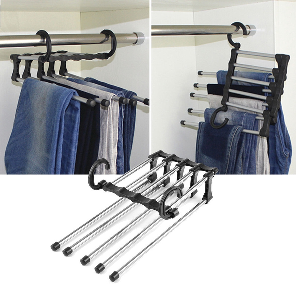 Móc treo quần áo nhiều tầng có thể điều chỉnh