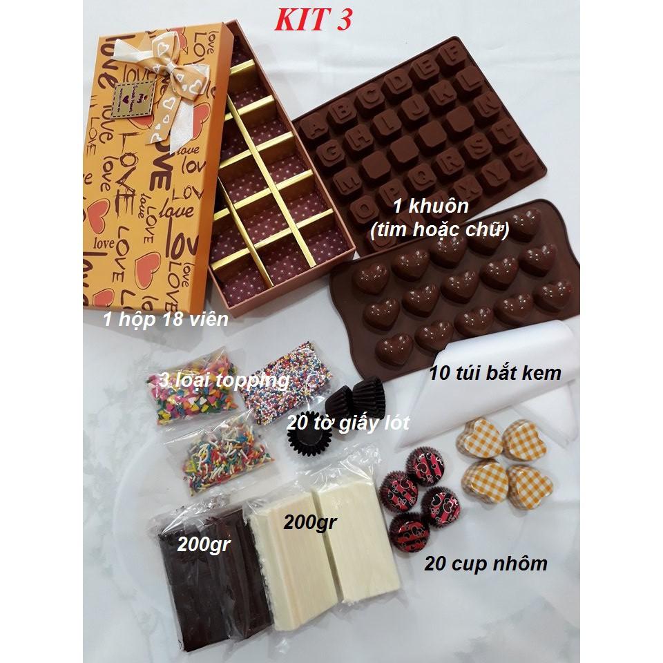 Bộ làm socola / chocola/ chocolate handmade KIT3 - 2974909 , 868082186 , 322_868082186 , 150000 , Bo-lam-socola--chocola-chocolate-handmade-KIT3-322_868082186 , shopee.vn , Bộ làm socola / chocola/ chocolate handmade KIT3