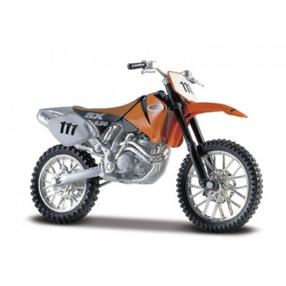 Mô hình xe mô tô MAISTO 1:18 KTM 520 SX MOTORCYCLE BIKE DIECAST MODEL TOY NEW IN BOX