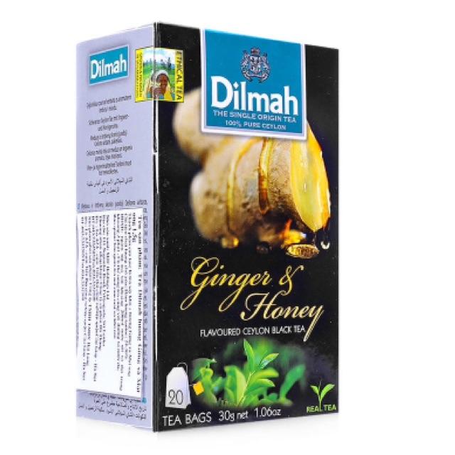 Trà túi lọc hương gừng và mật ong Dilmah 30g