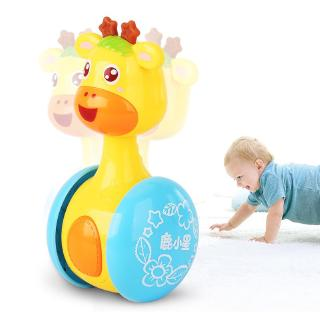 Baby Rattles Tumbler Doll Sweet Bell Music Learning Education Toys Ready Stock