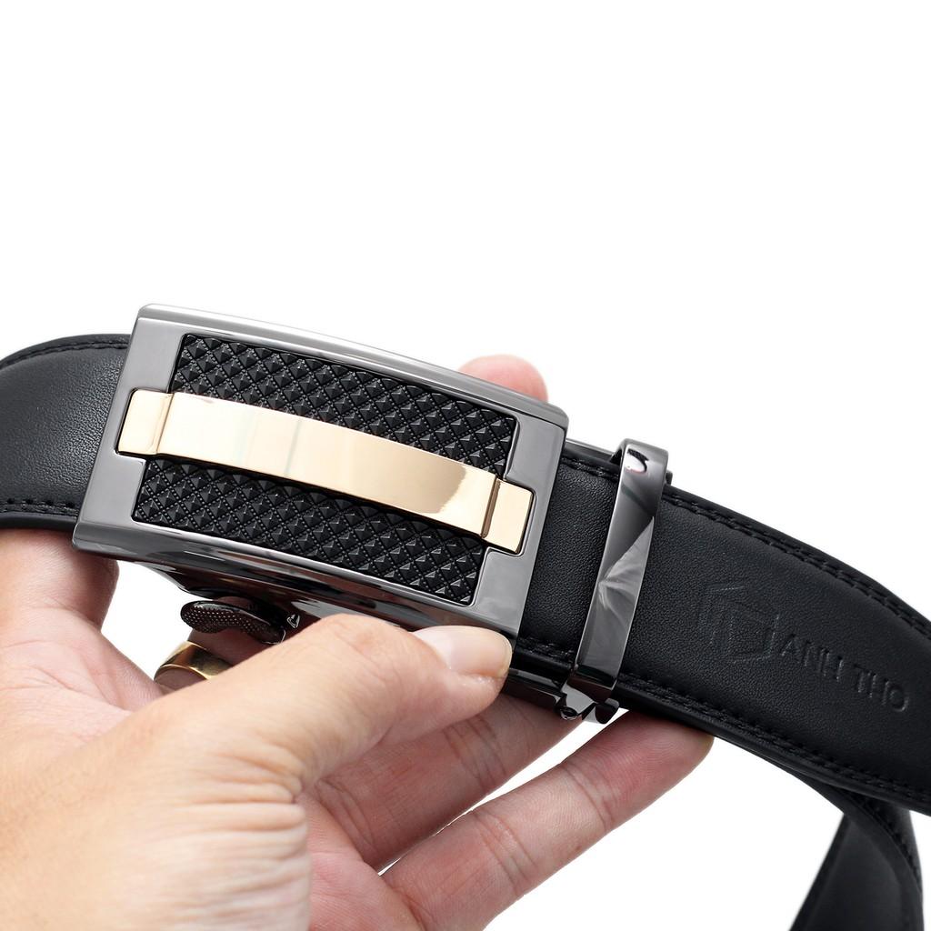 Thắt lưng nam da bò AT Leather - P115G