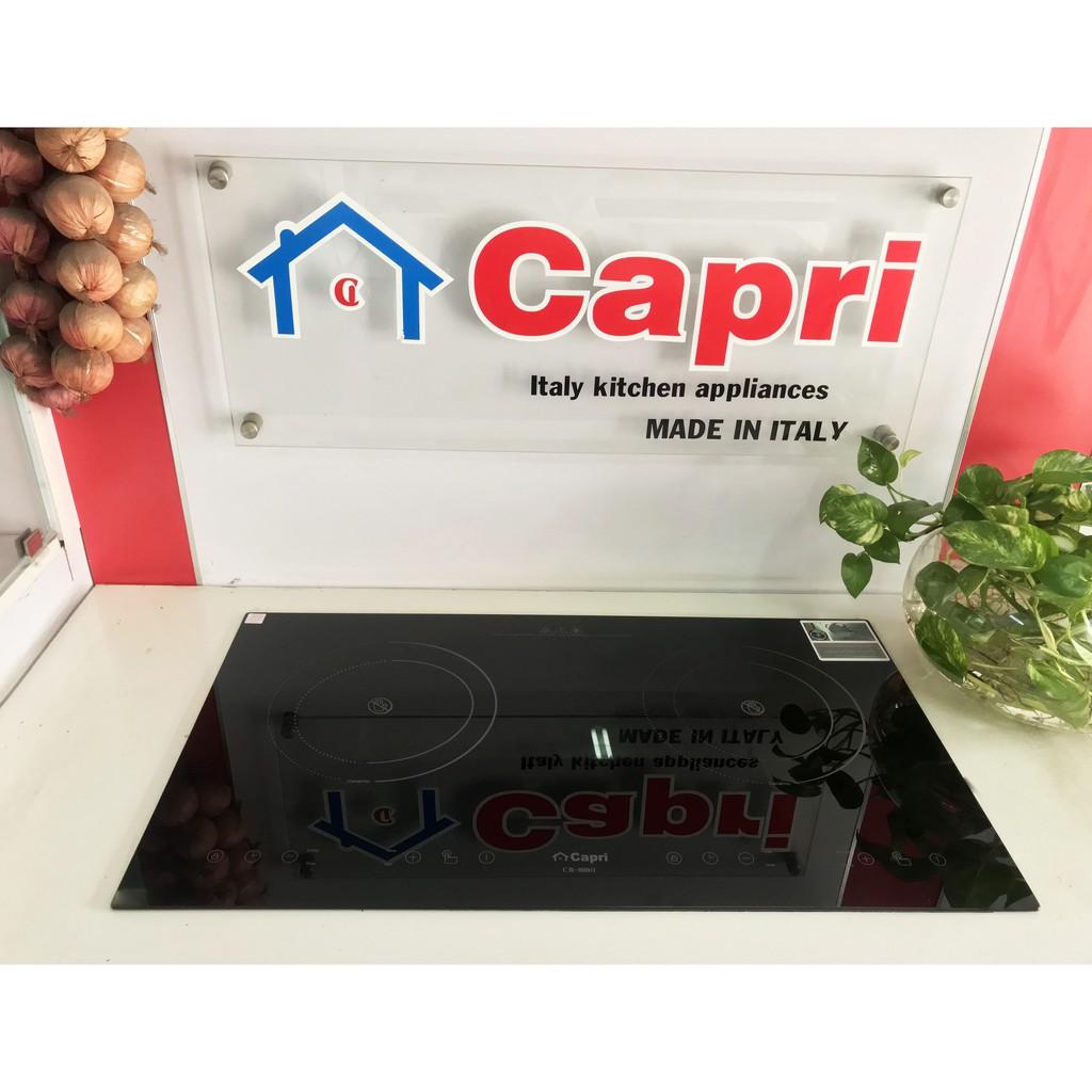 ẢNH THẬT] Bếp Hồng Ngoại Đôi Capri CR-800H - Chính Hãng, Thiết Kế Sang  Trọng, Tiết Kiệm Điện Tối Ưu