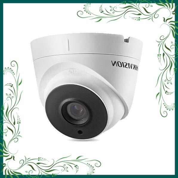 (Rẻ Tẹt Ga) Camera HD-TVI Starlight 2MP bán cầu hồng ngoại 40m HIKVVISION DS-2CE56D8T-IT3E (Trắng)