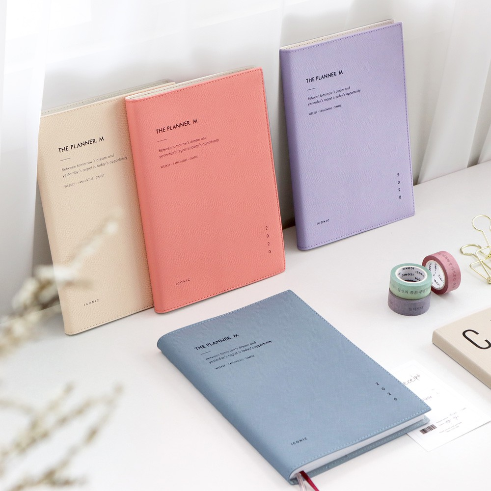ICONIC 2020 The Planner M / Monthly + Weekly + Note
