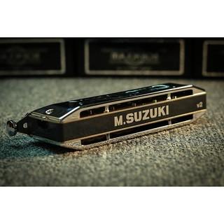 Kèn Harmonica Chromatic Suzuki SCX 48(New)