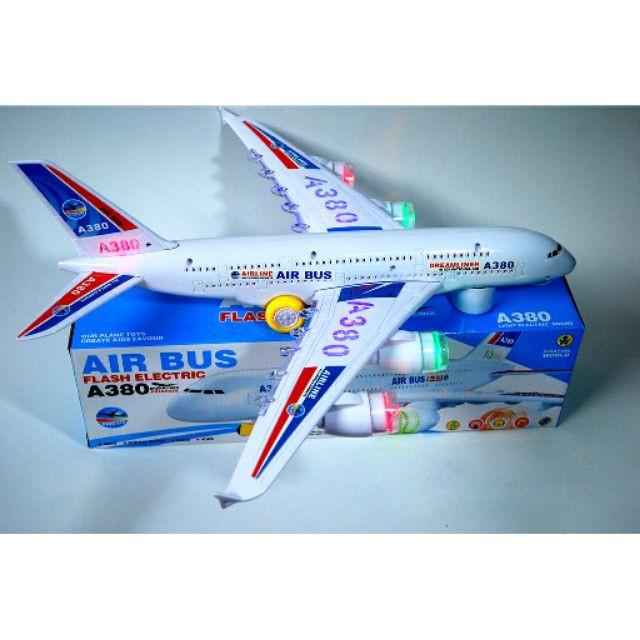 GIÁ SỐC Đồ chơi mô hình máy bay pin nhạc đèn SIZE KHỦNG (đại)