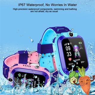 Đồng hồ điện tử thông minh chống nước tốt dành cho trẻ em CAROBY Q12