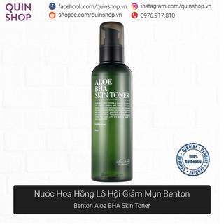 Nước Hoa Hồng Lô Hội Giảm Mụn Benton Aloe BHA Skin Toner thumbnail