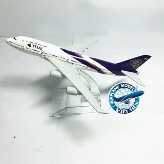Mô hình máy bay Thailand dài 16cm