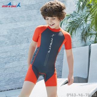 Bộ Bơi Liền Cộc Bé Trai DS42 – Ghi Cam