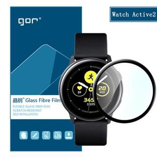 Galaxy Watch Active/ Watch Active 2 -Miếng dán full màn cao cấp chính hãng Gor độ kết dính cao, cảm ứng mượt mà trơn tru