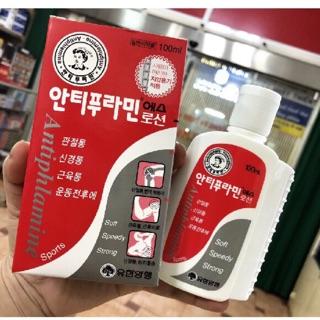 Dầu nóng Xoa Bóp Hàn Quốc Antiphlamine 100ml thumbnail