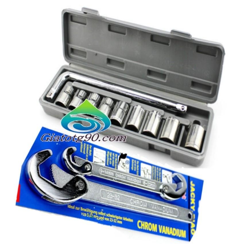 Bộ 2 cờ lê đa năng 206379 +Bộ dụng cụ sửa chữa ô tô và xe máy 206080 (ghi) - 3065583 , 560644068 , 322_560644068 , 568000 , Bo-2-co-le-da-nang-206379-Bo-dung-cu-sua-chua-o-to-va-xe-may-206080-ghi-322_560644068 , shopee.vn , Bộ 2 cờ lê đa năng 206379 +Bộ dụng cụ sửa chữa ô tô và xe máy 206080 (ghi)