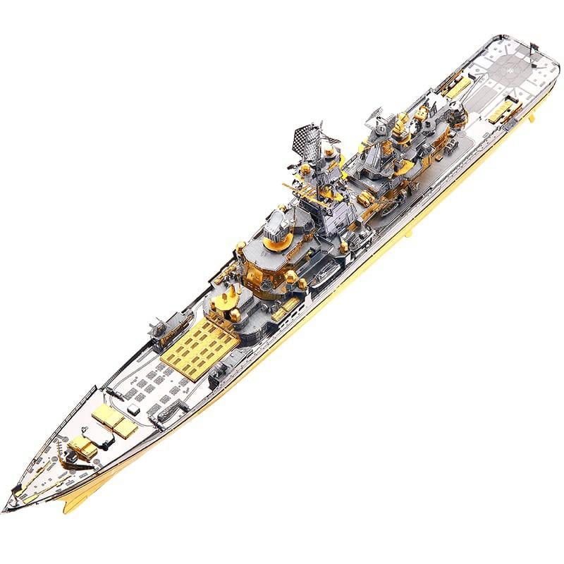 Mô hình lắp ráp kim loại Tàu chiến tuần dương PYOTR VELIKIY Piececool P1