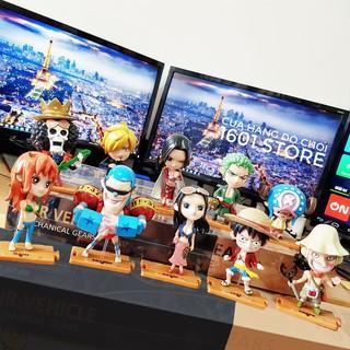 Đồ chơi mô hình Chibi One Piece – Bộ 10 con