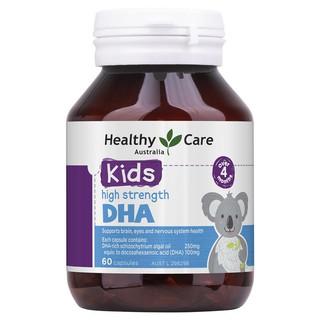 Viên uống DHA Healthy Care 60 viên (khử mùi tanh)