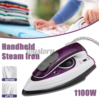 1100W Handheld Steam Iron Electric Ironing Portable Travel Home Cloth Garment Steamer