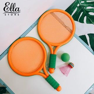ELLA ® Outdoor Sports Tennis Badminton Ball Racket Interactive Toy Set