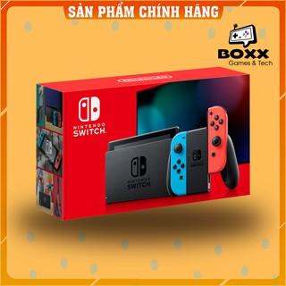 [Mã 157ELSALE1 giảm 5% đơn 3TR] Máy Nintendo Switch V2 Neon Blue và Neon Red Joy Con - bảo hành 12 tháng kèm quà tặng thumbnail
