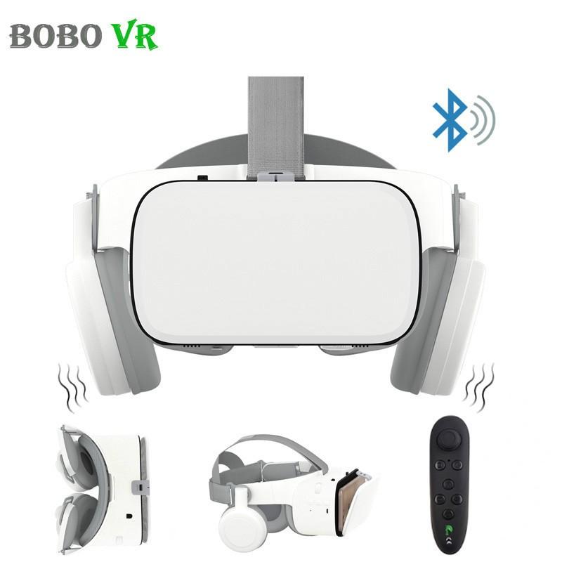 BOBOVR Z6 VR Helmet Upgrade 3D Glasses Headset Google Cardboard Bluetooth Virtual Reality Wireless