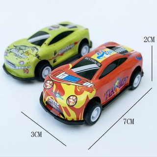 COMBO Bộ 2 ôtô mini - đồ chơi trẻ em có bánh đà 1