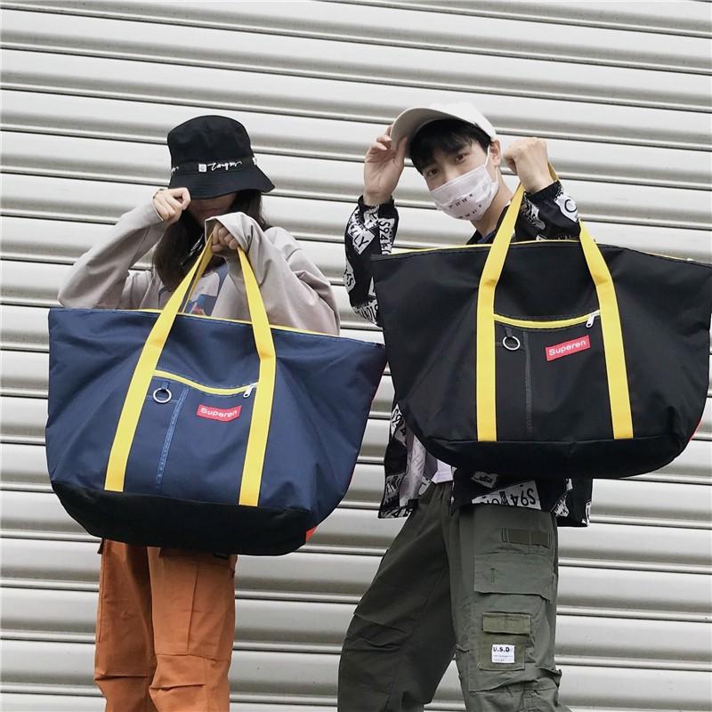 vas student shoulder bag female Korean version of the casual mobile shopping bag