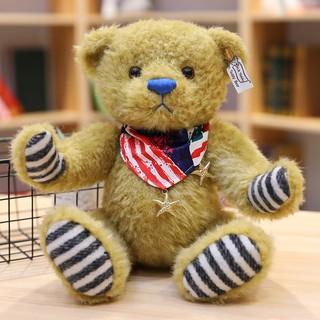 Gấu Teddy Nhồi Bông Phong Cách Retro