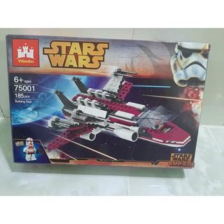 (CÓ SẴN) Lắp ráp lego starwars 75001 phi thuyền chiến đấu