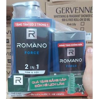 ROMANO FORCE_ ROMANO 2IN1 650G TẶNG KÈM CHAI 2IN1 150G.