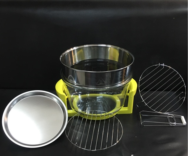 Lò thuỷ tinh dùng cho lò nướng halogen glass oven bowl 12 - 17 lít