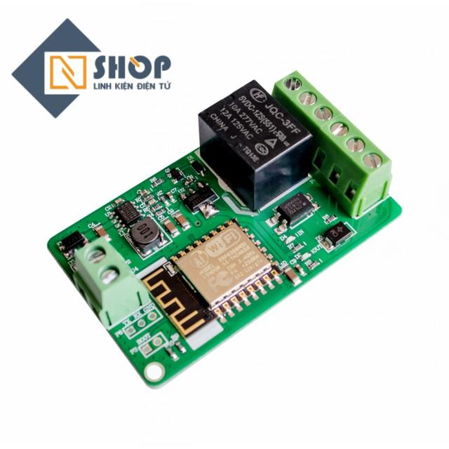 Mạch điều khiển wifi relay ESP8266 V12 - 3590150 , 981330483 , 322_981330483 , 150000 , Mach-dieu-khien-wifi-relay-ESP8266-V12-322_981330483 , shopee.vn , Mạch điều khiển wifi relay ESP8266 V12