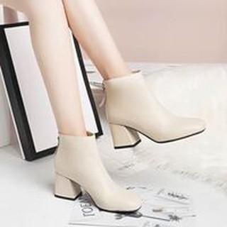 Boot gót vuông khóa sau cao 5cm Pizishoes - Vip20 thumbnail