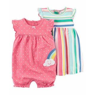 Đầm Carter đóng bỉm bé gái sơ sinh