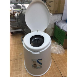 Bô Vệ Sinh Cho Người Già, Toilet Di Động Nhựa Cao Cấp