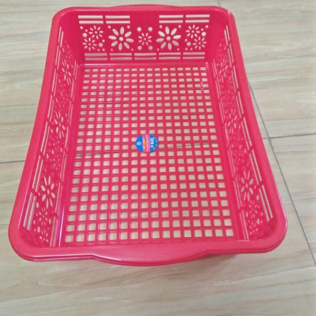 Combo 10 Rổ nhựa vuông việt nhật - 22442510 , 2792839591 , 322_2792839591 , 150000 , Combo-10-Ro-nhua-vuong-viet-nhat-322_2792839591 , shopee.vn , Combo 10 Rổ nhựa vuông việt nhật