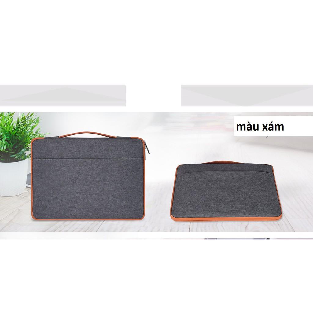 Túi chống sốc laptop có tay cầm 3 ngăn Giá chỉ 176.000₫