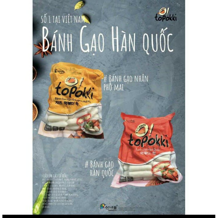 (FREESHIP HN, HCM) 500g bánh gạo truyền thống +500gr bánh gạo nhân phô mai