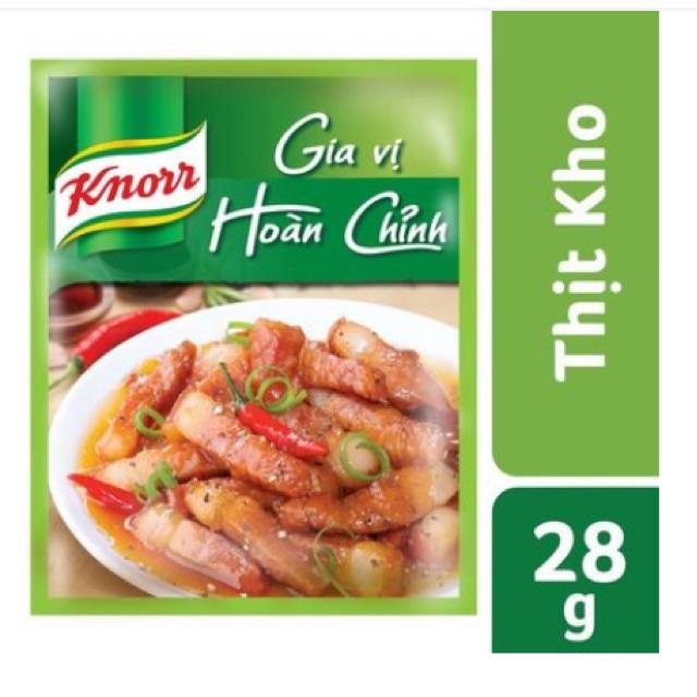 Gia Vị Hoàn Chỉnh - Thịt kho gói 28g