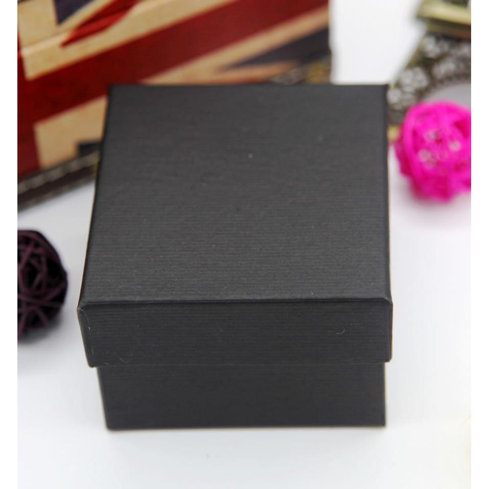 Set 10 hộp đựng đồng hồ đeo tay Dotime màu đen đỏ HD11 cao cấp