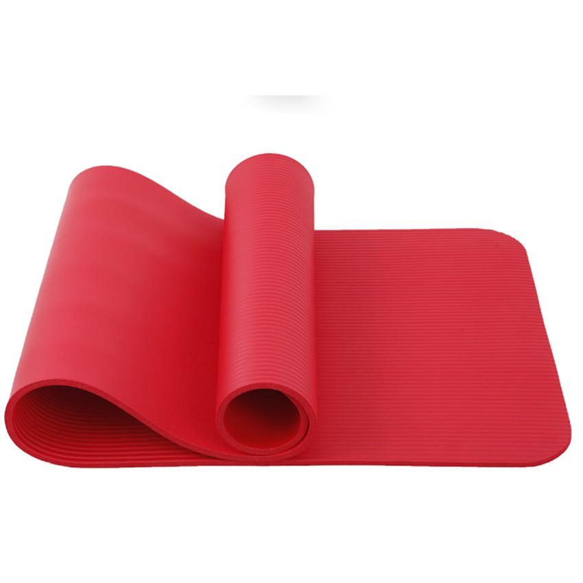 Thảm Yoga Uy Tín 10mm Màu Đỏ