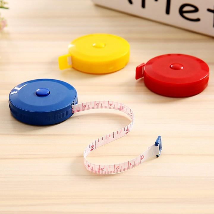 Thước cuộn mini nhỏ gọn 1,5m – Thước dây rút đo quần áo F275SP1