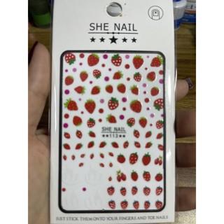Sticker trang trí móng trang trí móng ( vui lòng chọn mã ) thumbnail