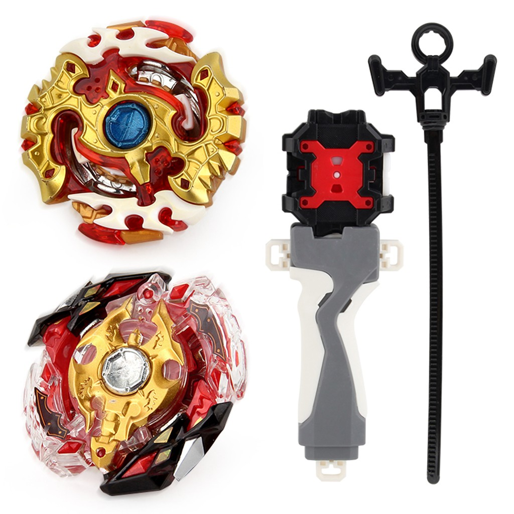 Rapidty Fight Burst Spinning Top Toy Grip Set Spriggan Requiem.0..Zt B-100