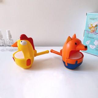 Trò chơi thổi bong bóng trong nhà tắm